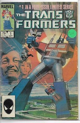The Transformers Issues 1,4-7, 29 (1984, Marvel)