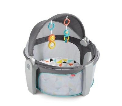 NEW Fisher Price On-The-Go Baby Dome Kids Infant Activity Playard Indoor Outdoor
