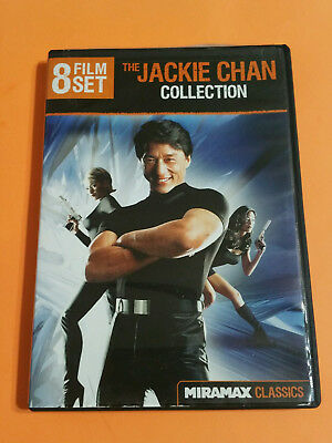 The Jackie Chan Collection: 8 Film Set (DVD, 2-Disc) SUPERCOP / TWIN DRAGONS