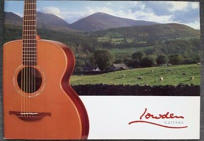 LOWDEN Guitars catalog Color, 26 pgs EXTREMELY RARE - Ireland