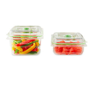 Sunbeam VS0640 FoodSaver® Containers 2 Piece Set -Compatible with all FoodSavers
