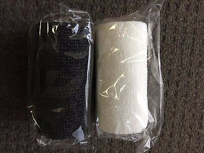 Horse First Aid Cohesive Bandage 10cm x 4.5m Varied Colours & Pack Sizes