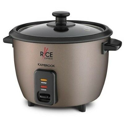 Kambrook KRC80CHO Rice Express 8 Cup Rice Cooker with Steaming Rack