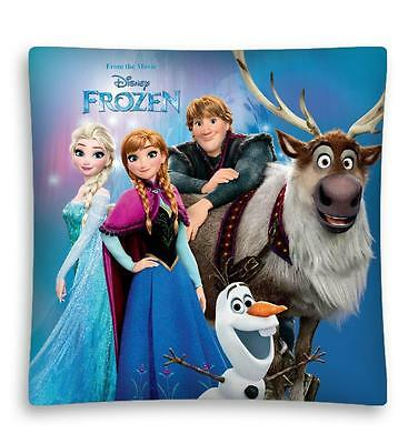NEW DISNEY FROZEN Anna Elsa Kristoff Olaf Sven cushion cover 40x40cm pillow case