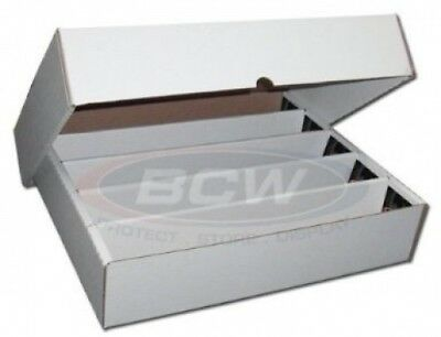 BCW FULL LID Super Monster 5 Row Storage Box (5000 Ct.) - Corrugated Cardboard