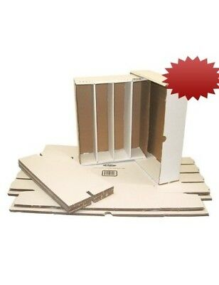 (5) BCW Brand Trading Card Cardboard Monster Storage Box with Full Lid - 3200