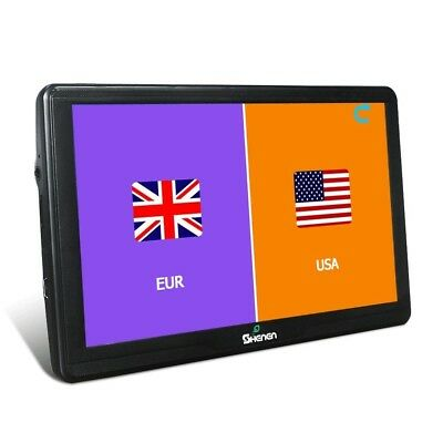 All America Europe Maps 16GB Car Navigation 18cm GPS SAT NAV Capacitive