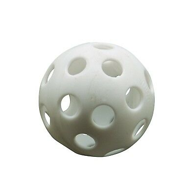 Athletic Specialties Perforated Golf Ball Box of 500 White. Shipping Included