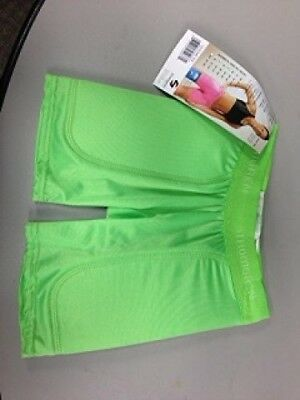 (Medium, Lime) - Stromgren Youth Patented Low Rise 13cm Inseam Sliding Short