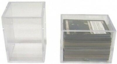5 BCW Brand 150 Trading Card Capacity Slider Box / Holder / Case - TCBRSB150 -