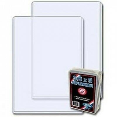 BCW 3.5 x 5 - Index Card Topload Holder - 25 Holders per Pack (Quantity of 100)