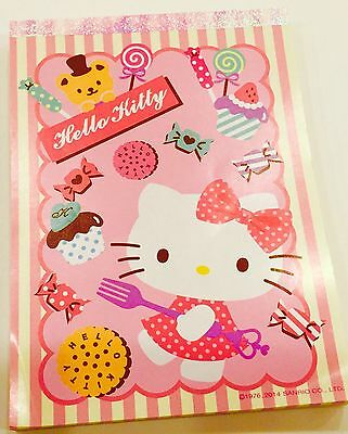 Sanrio Hello Kitty: Memo Pad Cake KT With 80 Sheets
