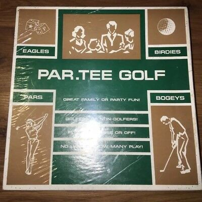Par.Tee Golf - Great Family & Party Fun Classic Sealed Vintage Dice Game 70s 80s