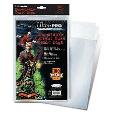 500 Ultra Pro Current resealable Storage Bags Brand New Factory Sealed