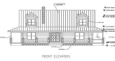 """Log Cabin DRIED-IN Package """"MORNING GLORY""""  50' x 28' 2437 sq. ft. $89,775.00"""