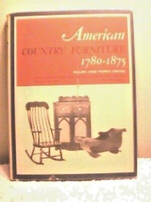 """AMERICAN COUNTRY FURNITURE 1780-1875"" by KOVEL, 1965, 248 PAGES, DUST JACKET"
