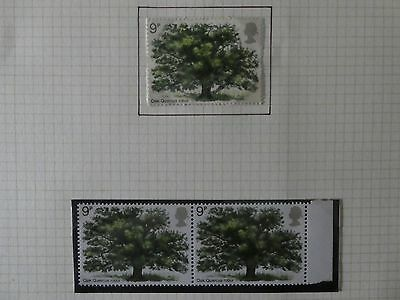 GB Stamps 1973 TREES British Oak - Mint setx2, Used set