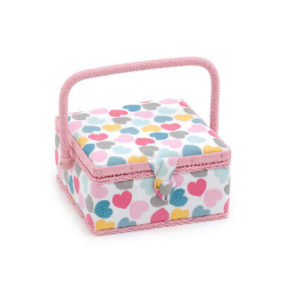 HobbyGift MRS276 | Love Small Sewing Box | 20 x 20 x 11cm