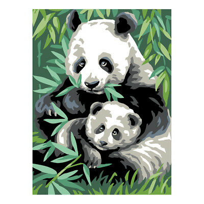 Royal Paris Tapestry Printed Canvas Panda Bears | 98801070167