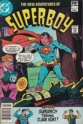 The New Adventures of Superboy #16 (Apr 1981, DC)