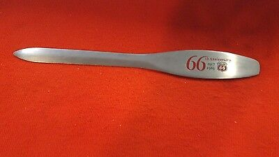 Vintage PHILLIPS 66 ANNIVERSARY LETTER OPENER 66TH YEAR