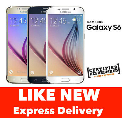 Samsung Galaxy S6 Smartphone 32GB 64GB 4G GSM UNLOCKED Express from Melbourne