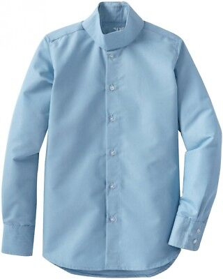 (6, Light Blue) - TuffRider Girl's Starter Long Sleeve Show Shirt. Huge Saving