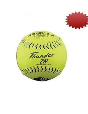 Dudley 30.5cm USSSA Thunder ZN Composite Slowpitch Softball - pack of 12