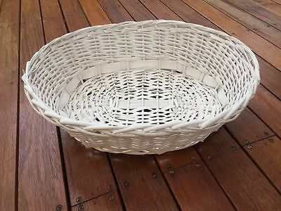 Brand New Large Oval Willow Basket *Baby Newborn Photo Prop Accessory 55x43x19cm