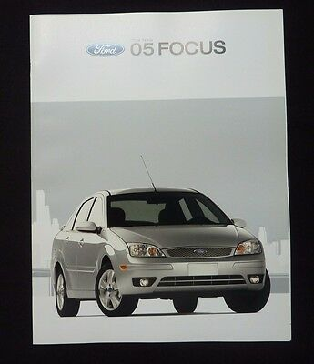 2005 Ford Focus Dealer Sales Brochure~Original Factory Showroom Auto Literature