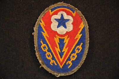 WWII US Army Advanced Base SSI Shoulder Sleeve Insignia Patch; Good Condition
