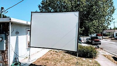 Da Lite 7.5x10 Front and Rear projection screen