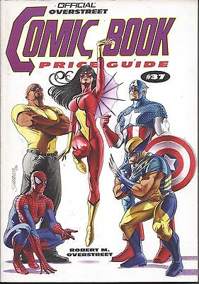 Overstreet Price Guide 37Th Softcover ( Vf/nm )   ** Avengers ** $14 Auction