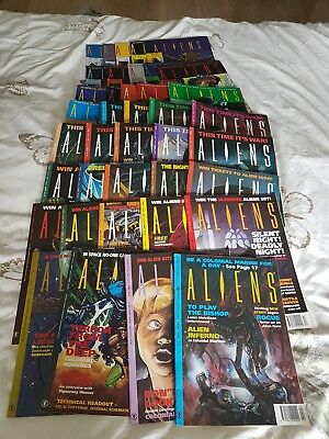 Aliens Magazine First 39 Issues. Issue #1Included. Great condition 1991 - 1994