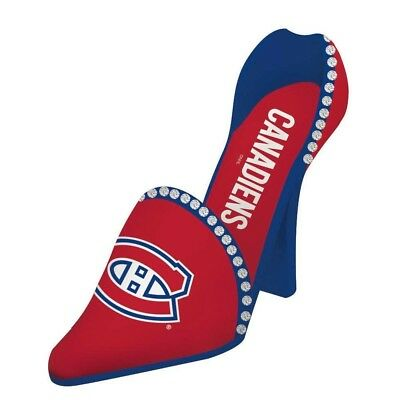 Montreal Canadiens Resin Logo High Heel Shoe Wine Bottle Holder