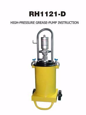 High Pressure Grease Pump Injection