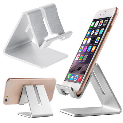 Aluminum Desktop Cell Phone Tablet Stand Holder Mount for iPad/iPhone