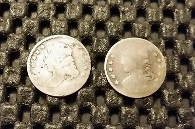 Dateless Capped Bust Half Dime Lot! 89% Silver!