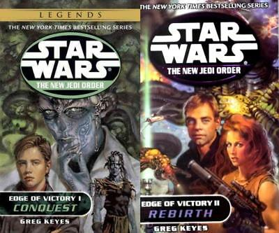 Star Wars EDGE OF VICTORY DUOLOGY Collection Set of PAPERBACK Books 1-2