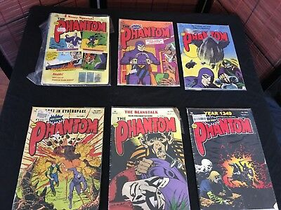 Lot of 4 x Frew Phantom Comics from 2005-06. no.'s 1433, 1457, 1462 and 1463. VG
