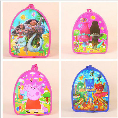 Hot Cute Moana PJ Masks Trolls Nursery Backpack Pokemon Kids Travel School Bags