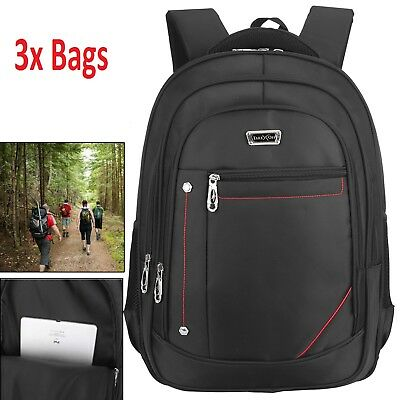 3x Bags 29 Litre Wall Street Business Travel Luggage Laptop Backpack Rucksack