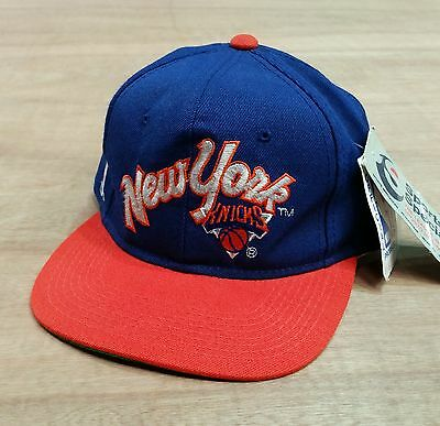 New York Knicks - Vtg Fitted Baseball Cap Size 6 5/8 - Sports Specialities - New
