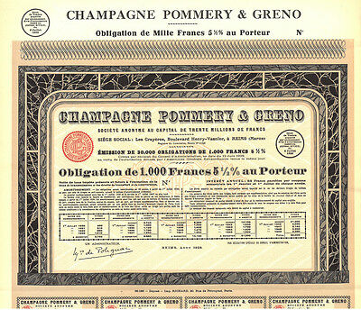 TOP-Papier: Champagne Pommery & Greno - Infotext lesen!