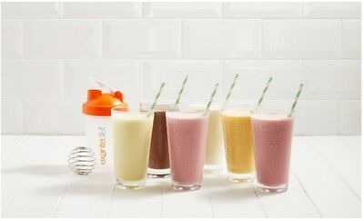 10 x EXANTE DIET SHAKES Mixed Flavours ❤ VLCD Meal Replacement Low Sugar ❤ 05/19