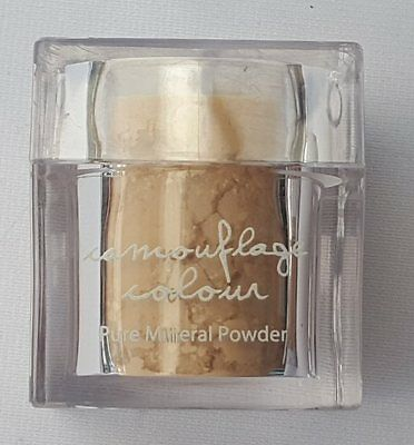 Mineral Makeup Camouflage Colour 051 Sunrise 15g Pure Mineral Powder with Puff