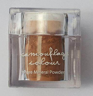 Mineral Makeup Camouflage Colour 050 Caramel 15g Pure Mineral Powder with Puff