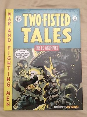 The EC Archives Two-Fisted Tales Volume 3 Graphic Novel Book- Dark Horse - New
