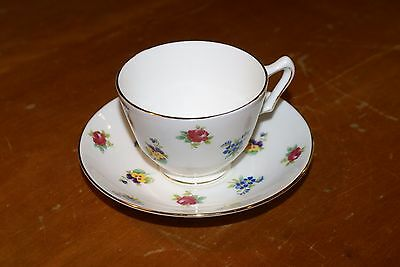 Royal Victoria Fine Bone China  Cup and Saucer BEAUTIFUL