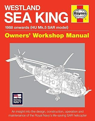 Haynes Westland SAR Sea King Manual H5505